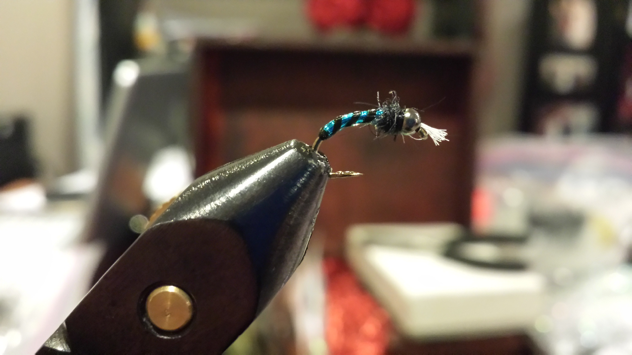 Blue Flash Chironomid DONE!